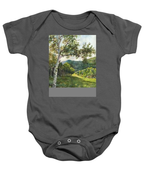 Field Of Light At Caribou Ranch Baby Onesie