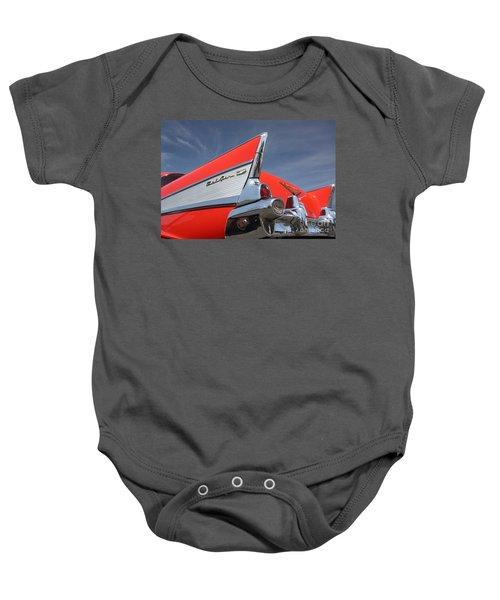 Fintastic '57 Chevy Baby Onesie