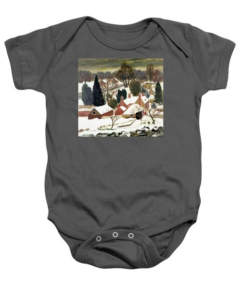 First Fall Baby Onesie