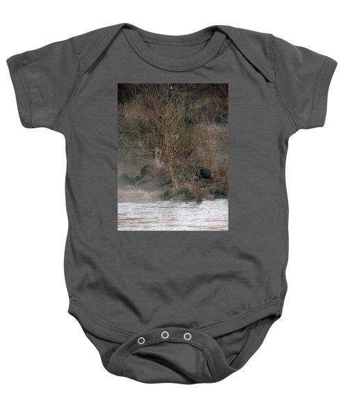 Flint River 19 Baby Onesie