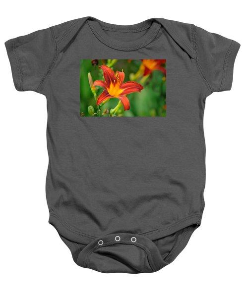 Flower Baby Onesie