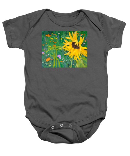 Flower Fun Baby Onesie
