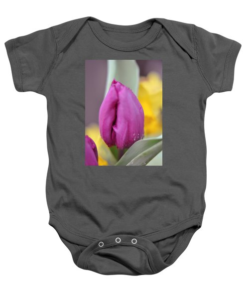 Flower In The Spring Baby Onesie