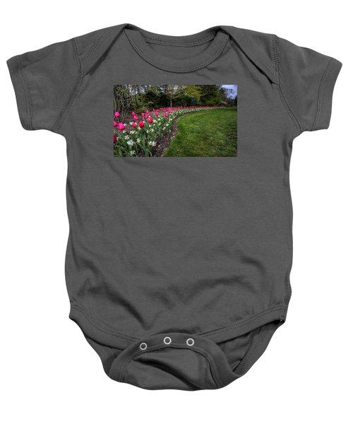 Flowers Of Spring Baby Onesie