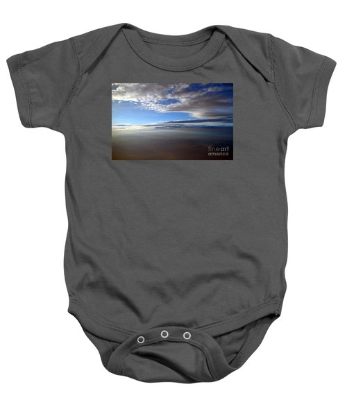 Flying Over Southern California Baby Onesie
