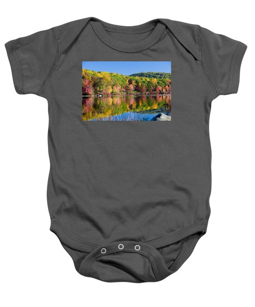 Foilage In The Fall Baby Onesie
