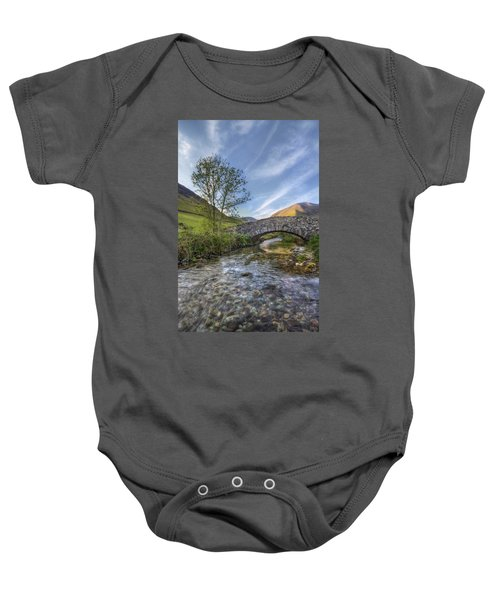 Follow Your Bliss Baby Onesie