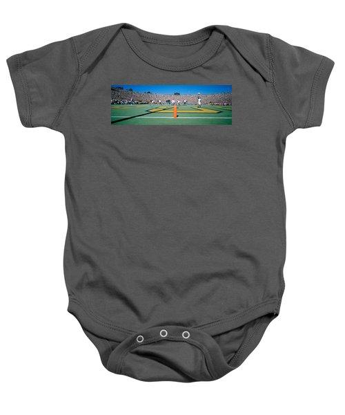 Football Game, University Of Michigan Baby Onesie