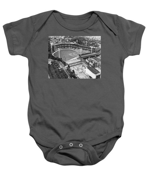Forbes Field In Pittsburgh Baby Onesie