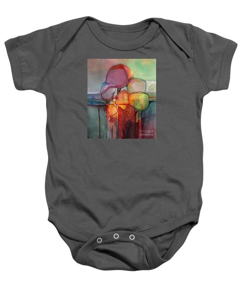 Forest Through The Trees Baby Onesie