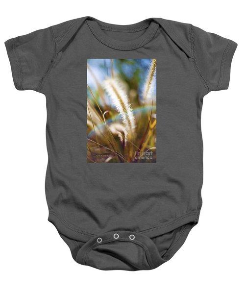 Fountain Grass Baby Onesie