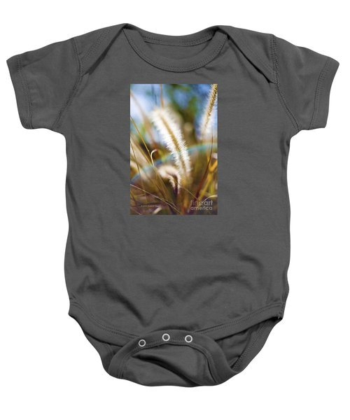 Fountain Grass Baby Onesie