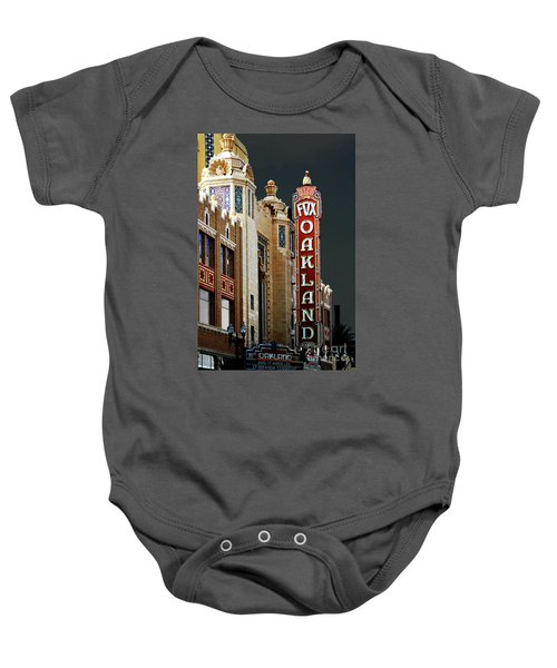 Fox Theater . Oakland California Baby Onesie