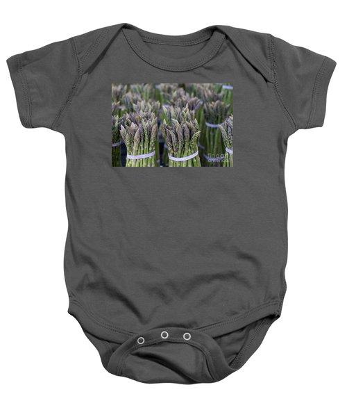 Fresh Asparagus Baby Onesie