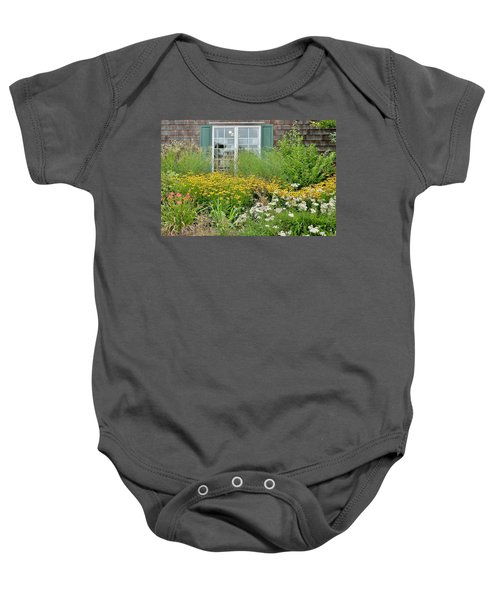 Gardens At The Good Earth Market Baby Onesie