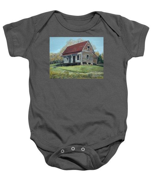 Gates Chapel - Ellijay Ga - Old Homestead Baby Onesie