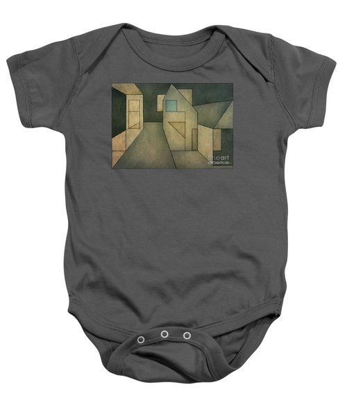 Geometric Abstraction II Baby Onesie