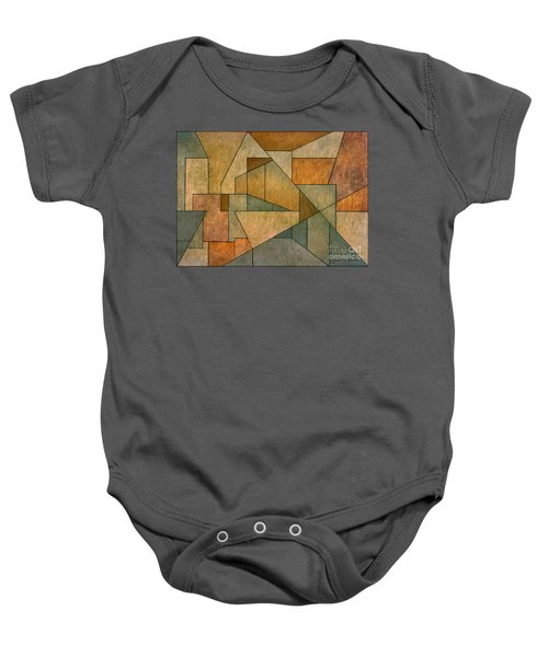 Geometric Abstraction Iv Baby Onesie