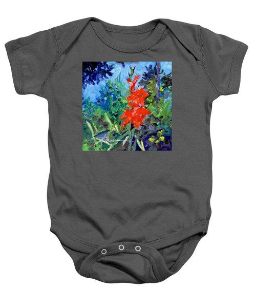 Gladiolus Baby Onesie