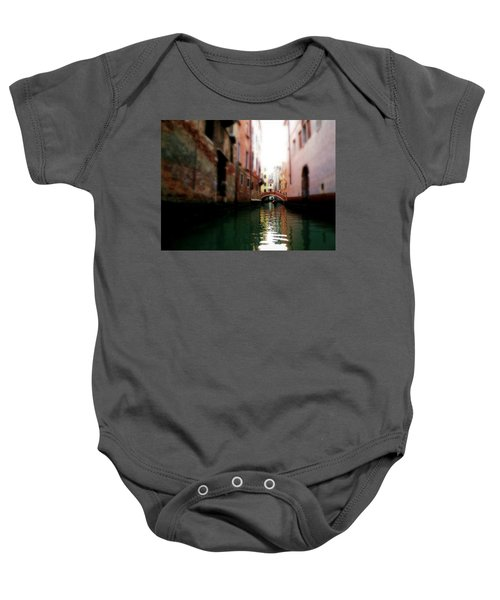 Gliding Along The Canal  Baby Onesie