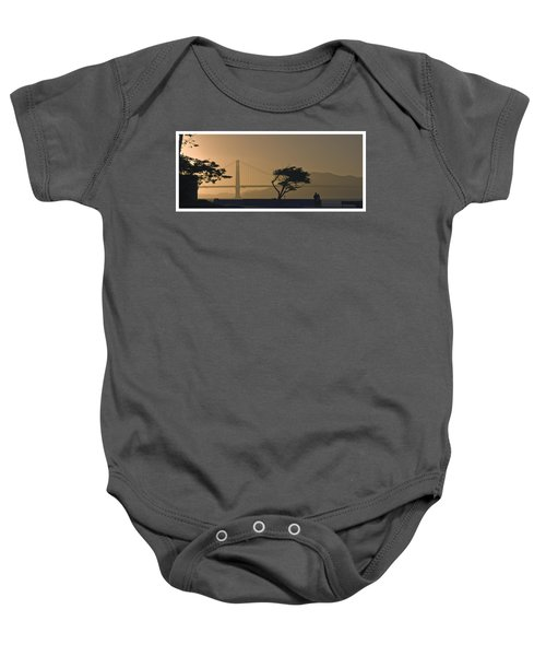 Golden Gate Lovers Baby Onesie