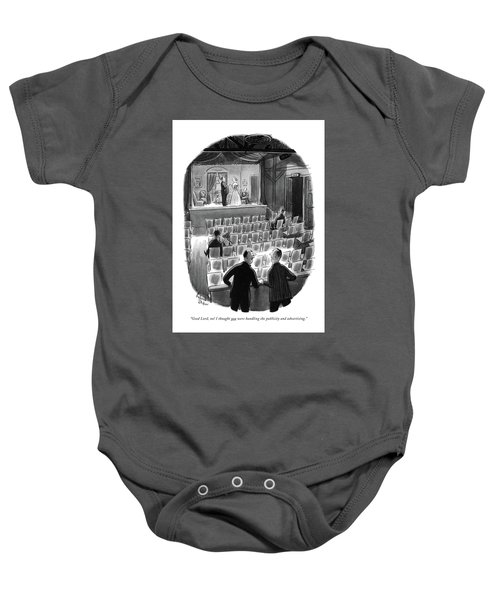 Good Lord, No! I Thought You Were Handling Baby Onesie