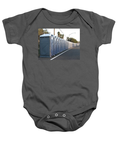 Baby Onesie featuring the photograph Gotta Go? by Shane Kelly