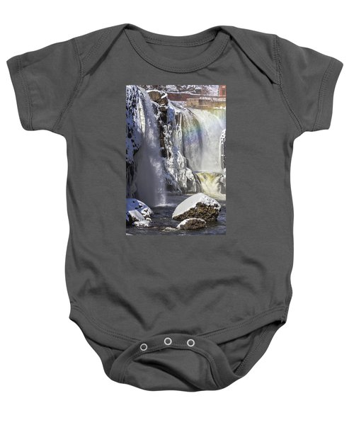 Great Falls And A Rainbow Baby Onesie