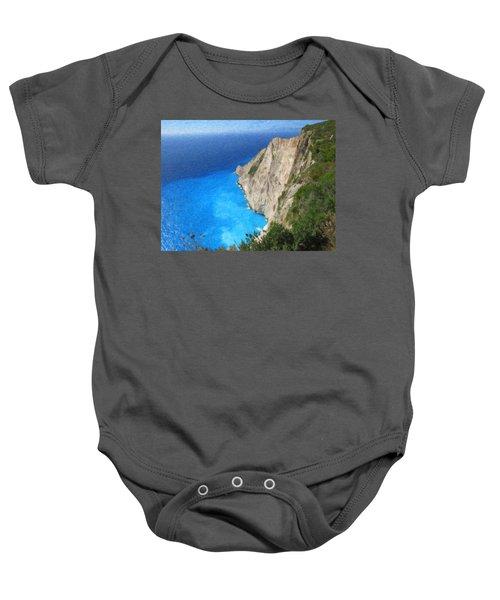 Greek Coast Grk4188 Baby Onesie