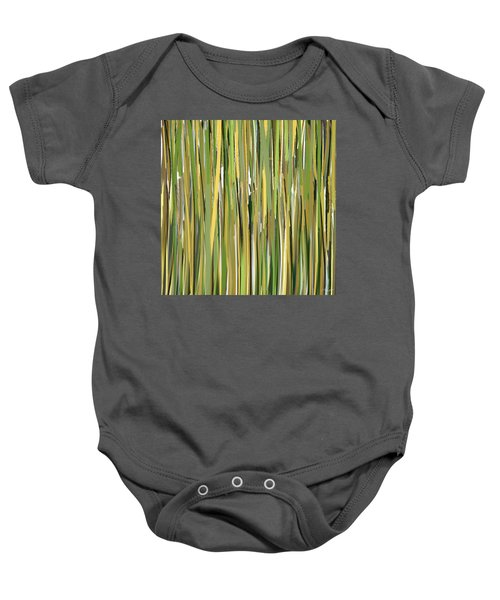 Green Melodies Baby Onesie by Lourry Legarde
