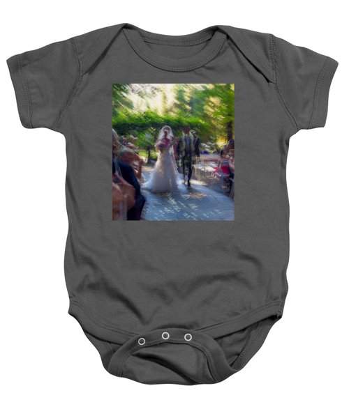 Baby Onesie featuring the photograph Happily Ever After by Alex Lapidus
