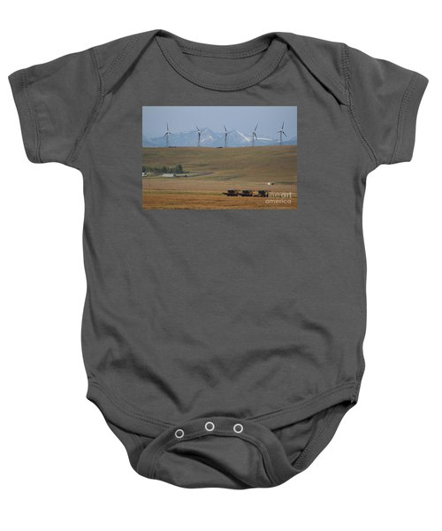 Harvesting Wind And Grain Baby Onesie