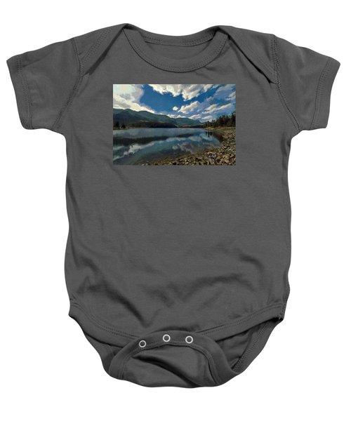 Haviland Lake Baby Onesie