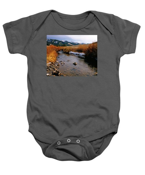 Headwaters Of The River Of No Return Baby Onesie