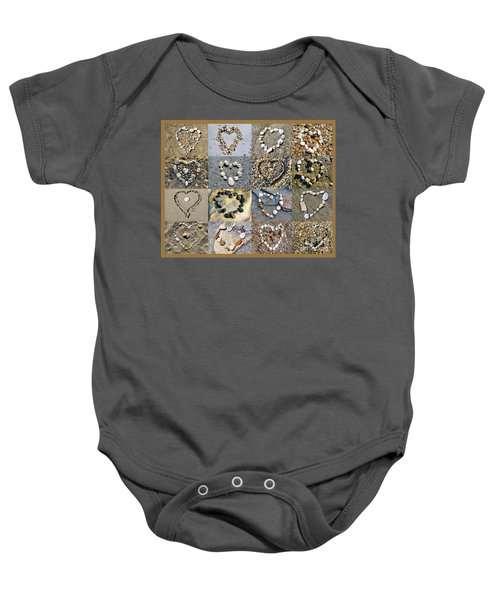 Heart Of Hearts Baby Onesie
