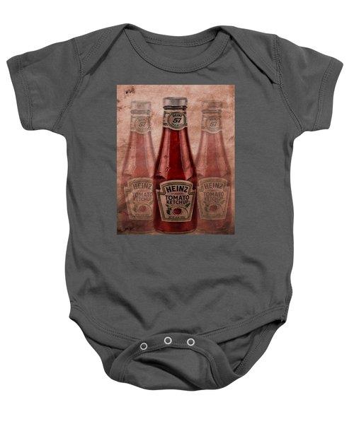 Heinz Tomato Ketchup Baby Onesie