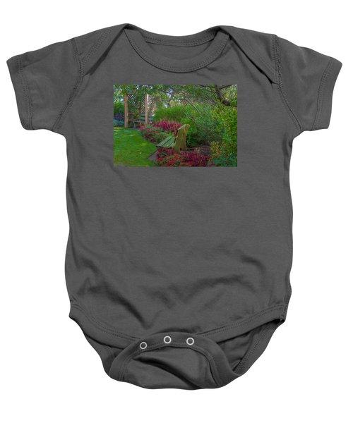 Hereford Inlet Lighthouse Garden Baby Onesie