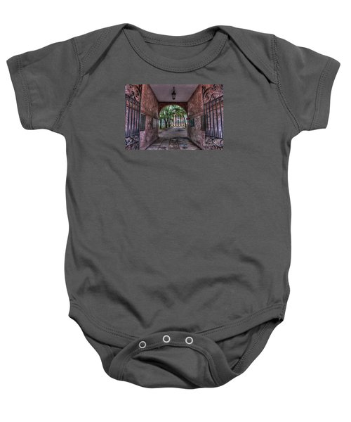 Higher Education Tunnel Baby Onesie