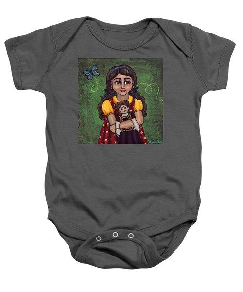 Holding Frida Baby Onesie