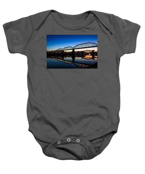Holiday Lights Chattanooga Baby Onesie