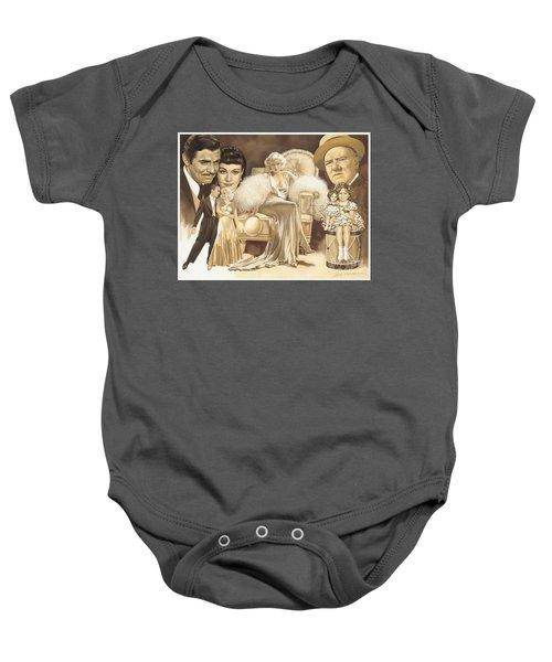 Hollywoods Golden Era Baby Onesie by Dick Bobnick