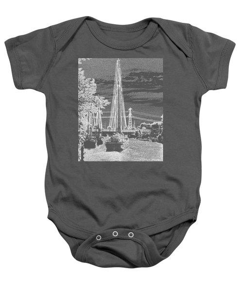 Home Sail Baby Onesie