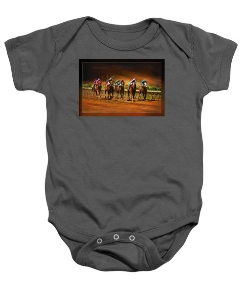 Horse's 7 At The End Baby Onesie