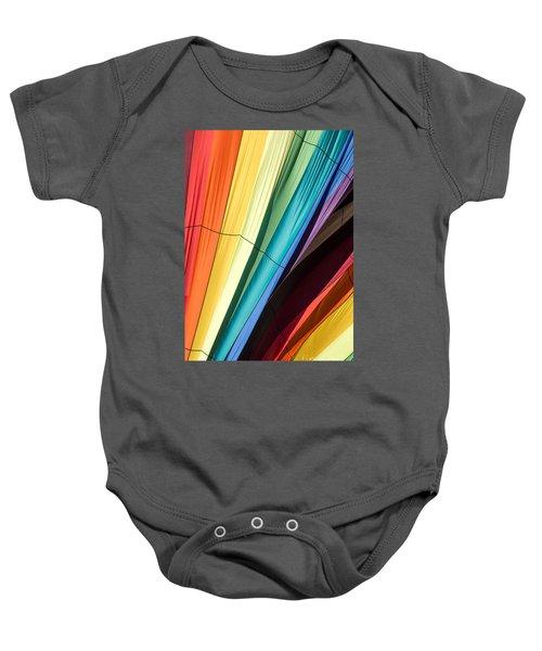 Hot Air Balloon Rainbow Baby Onesie