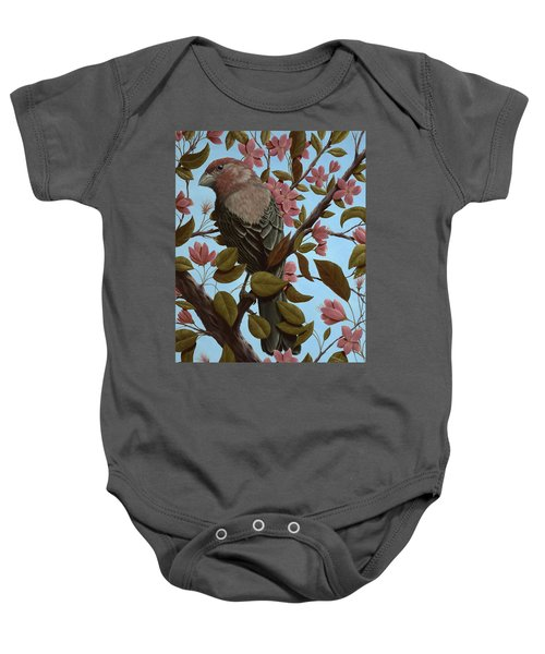House Finch Baby Onesie