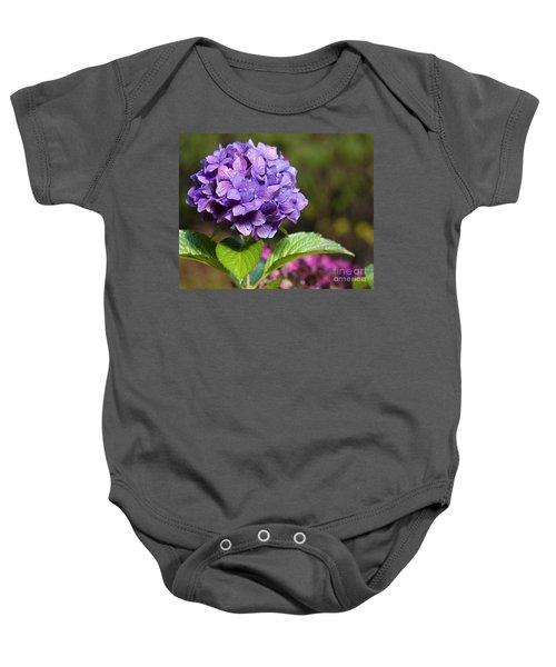Hydrangea Baby Onesie