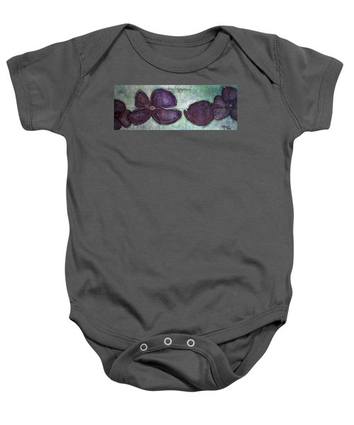 I Can See Home In Your Eyes Poppies Baby Onesie