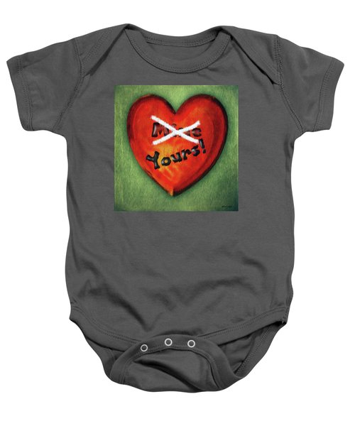 I Gave You My Heart Baby Onesie