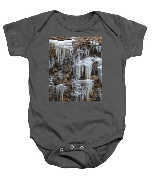 Icicle Cliffs Baby Onesie