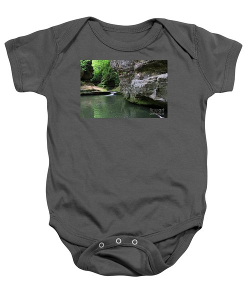 Illinois Canyon May 2014 Baby Onesie
